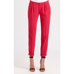 Joie Anderson B Cuffed Pink Pant